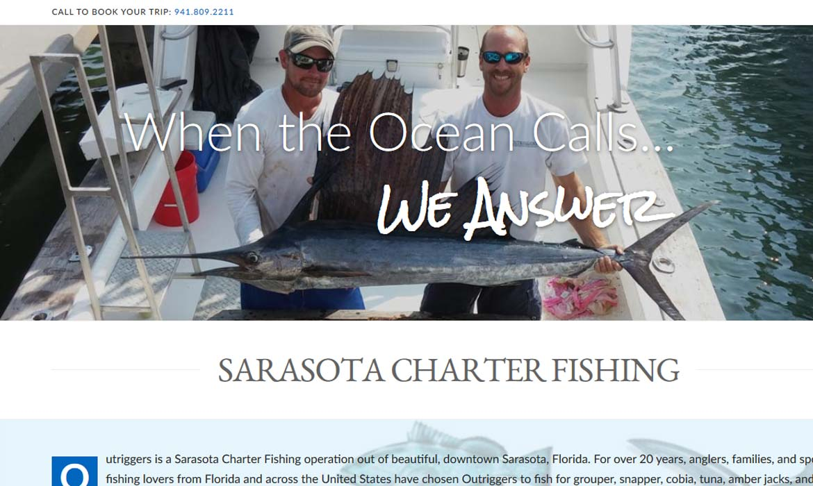 Outriggers Sports Charter Fishing